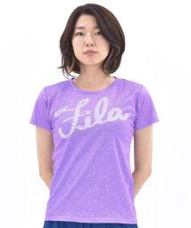 FILA/メッシュ星柄プリント半袖T/001786850