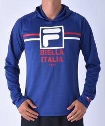 FILA/メッシュロゴパーカーTシャツ/001786873