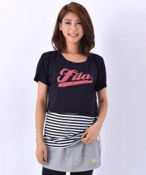 FILA/汗染み防止マイクロスムースTシャツ/001799291