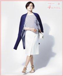 NIJYUSANKU/【高垣麗子さん着用】ダブルクロスストレッチ スカート/001807954