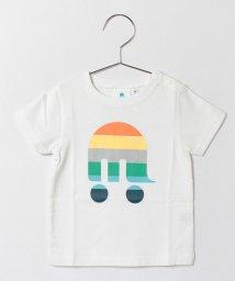 SHIPS KIDS/ships mammoth:半袖TEE(ホワイト)(80〜90cm)/001807282