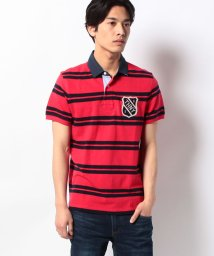 TOMMY HILFIGER MENS/TOBERT STP POLO S/S SF/001810597