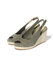 TOMMY HILFIGER WOMEN/FRONT TWIST WEDGE SOLE SANDAL/001817991