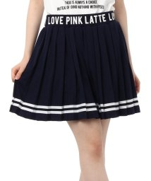 PINK-latte/天竺プリーツスカート/001826146