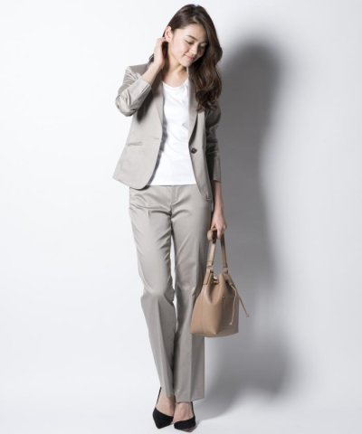 【スーツ】スーピマシャンブレー パンツ