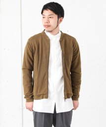 URBAN RESEARCH/【WAREHOUSE】パウダー加工裏毛ZIPカーデ/001828439