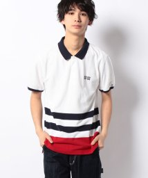 TOMMY HILFIGER MENS/LANCE ENG STP POLO S/S SF/001826422