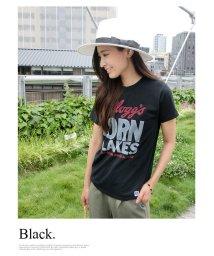 MODE ROBE/ビッグロゴプリントTシャツ/001833410