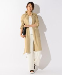 ICB(LARGE SIZE)/【CLASSY.掲載】SheerCotton シャツアウター/001839545