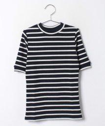 Lovetoxic/バックハート刺しゅう入り5分袖Tシャツ/001837527