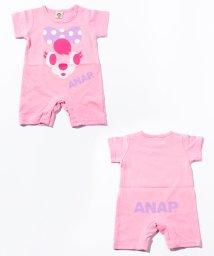 ANAP KIDS/キャラクターFACEロンパース/001841835