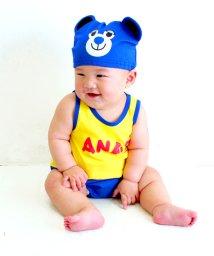 ANAP KIDS/帽子付キャラクターロンパース/001841836