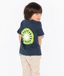 b-ROOM/ロゴ&フルーツTシャツ/001845163