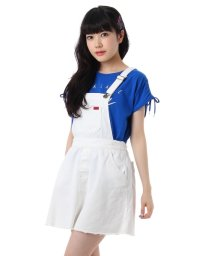 PINK-latte/ミニ丈デニムワンピース/001852219