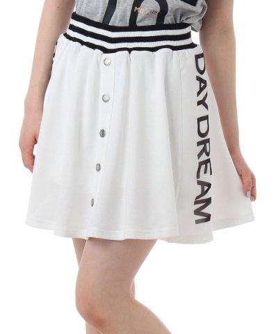 サイドロゴリブラインスカート