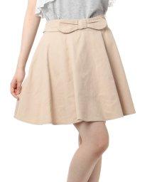 PINK-latte/サーキュラー風ツイルスカート/001860247