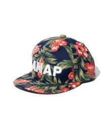 ANAP KIDS/ボタニカル柄CAP/001854473