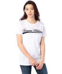 TOMMY HILFIGER WOMEN/AJ TRADITIONAL HILFIGER SCRIPT TEE SS/001860607