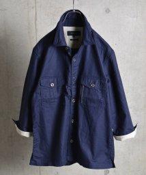 SHIPS JET BLUE/SHIPS JET BLUE: BDU 7スリーブシャツ 16SS/001865451
