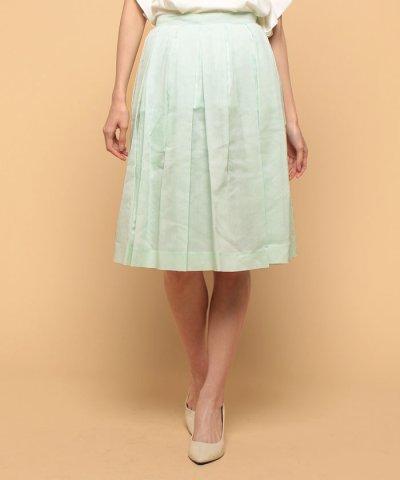 s/c organdie tuck skirt