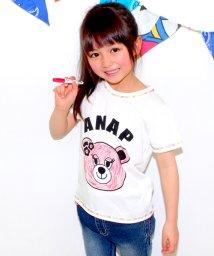 ANAP KIDS/サクラクレパスコラボ塗り絵ペン付Tシャツ/001866789
