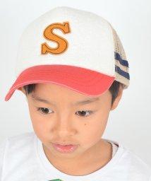 SHIPS KIDS/SHIPS KIDS:パイル ライン メッシュ キャップ/001867724