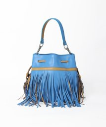 Viaggio Blu/~GIANNI CHIARINI~フリンジ巾着バッグ/001876808