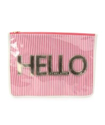 PINK-latte/2WAYクリアロゴショルダーバッグ/001877744