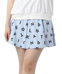 PINK-latte/アルファベット柄フレアショートパンツ/001880521