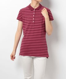 TOMMY HILFIGER WOMEN/NEW CHIARA STR PQ STP POLO SS/001867260