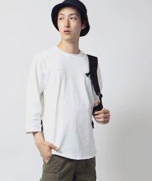 FREAK'S STORE/米綿空紡フットボールTシャツ/001884341