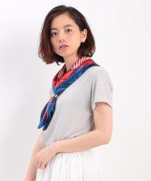 ViS/スカーフ付きスラブカットソー/001884161