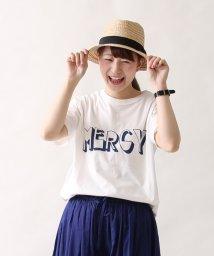 coen/MERCYロゴプリントビッグTシャツ/001887434