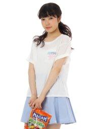 PINK-latte/ロゴポケ天竺プルオーバー/001890551
