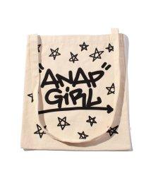 ANAP GiRL/星ロゴプリントショルダーバック/001881182