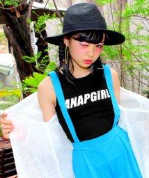 ANAP GiRL/ロゴ入リブタンクトップ/001881191