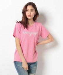 Bou Jeloud/VOYAGE刺繍ロゴTシャツ/001889255