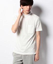"SHIPS MEN/SC: SHIPS(シップス) ""Smile Cotton"" モックネック ポケット Tシャツ/001887316"