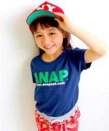 ANAP KIDS/NETオリジナルANAPお揃いロゴ/アドレスTシャツ/001889476