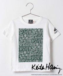 KRIFF MAYER(Kids)/キースヘリングコラボTシャツ/001890145