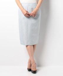 ROPE' mademoiselle/コットンリネンサイドスリットスカート/001896480