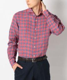 SHIPS MEN/SD: ALBINI社製 リネン生地 【SAHARA】 ウォッシュド ホリゾンタルカラーシャツ/001909627