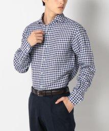 SHIPS MEN/SD: ALBINI社製 リネン生地 【SAHARA】 ウォッシュド ホリゾンタルカラーシャツ/001909628