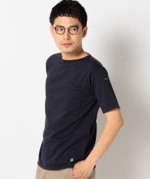 SHIPS MEN/Le minor: ソリッド ボートネック ポケット Tシャツ/001909751