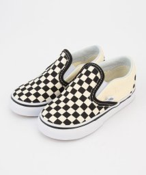SHIPS KIDS/VANS:CHECKERBOARD SLIP−ON(12~15cm)/001910920