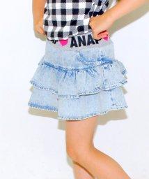 ANAP KIDS/インパンツ付デニムスカパン/001915679