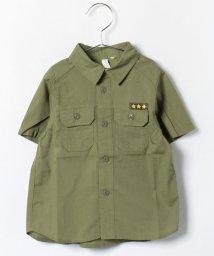 LAGOM/ミリタリー半袖シャツ/001919281