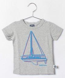 RUGGEDWORKS/マリン刺繍 ヨット半袖Tee/001919812