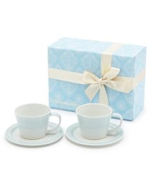 Afternoon Tea LIVING/H507 【WEB限定】カップ&ソーサーセット(ライトブルー)/001922960
