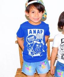 ANAP KIDS/ナップ君プリントTシャツ/001924255